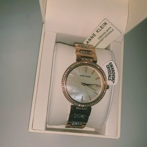 Anne Klein Watch with Swarovski Crystals